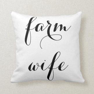 農場の妻の枕 クッション