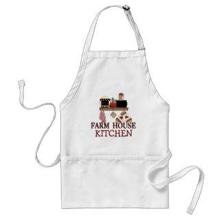 農場の家の台所エプロン スタンダードエプロン