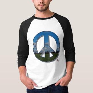 農場の平和Tシャツ Tシャツ