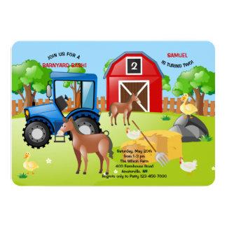 農場の招待状 カード