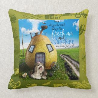 農場の新しいSadie Mikiの枕 クッション