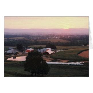 農場の池II、Mountville Rd.、Md。 + W.Va. カード