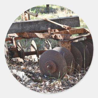 農場の道具田園クイーンズランドオーストラリア ラウンドシール