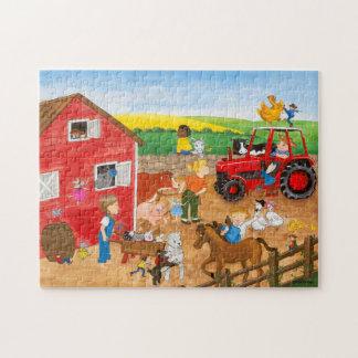 農場の魔法のパズル ジグソーパズル