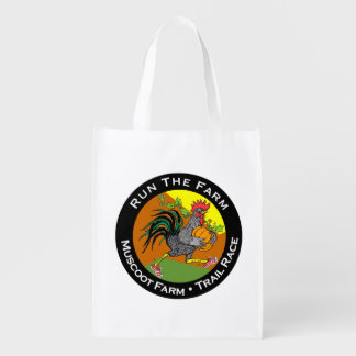 農場の2014年のロゴのデザインのエコバッグを走って下さい エコバッグ