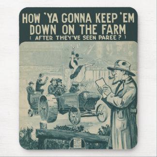 農場の` Emを保つことを行っているいかに マウスパッド