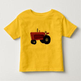農場トラクター トドラーTシャツ