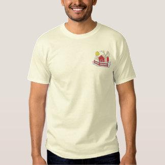 農場場面#1 刺繍入りTシャツ