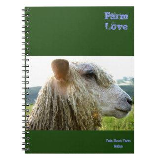 農場愛ジャーナルかノート ノートブック