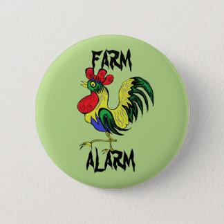 農場警報 5.7CM 丸型バッジ