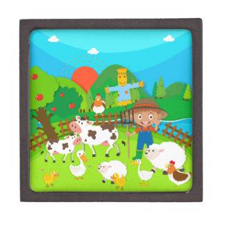 農家および家畜 ギフトボックス