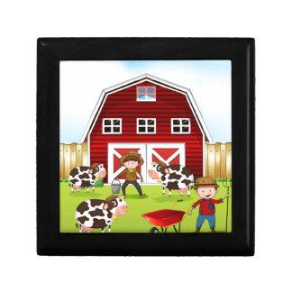 農家および納屋 ギフトボックス