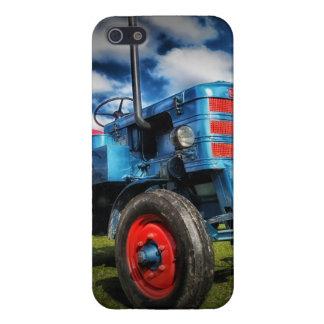 農家のためのクールな紫系統の旧式なトラクターのギフト iPhone 5 ケース