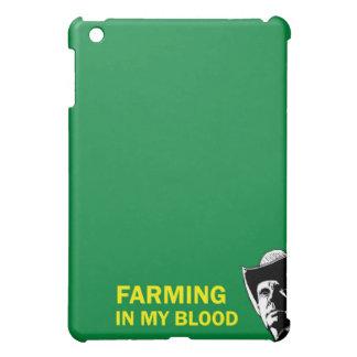 農家のための私の血、ギフトまたは牧場主で耕作します iPad MINIケース