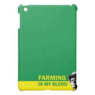 農家のための私の血、ギフトまたは牧場主で耕作します iPad MINI CASE