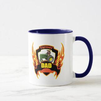 農家のパパの父の日のギフト マグカップ