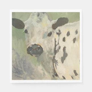 農家のベビー牛ナプキン スタンダードランチョンナプキン