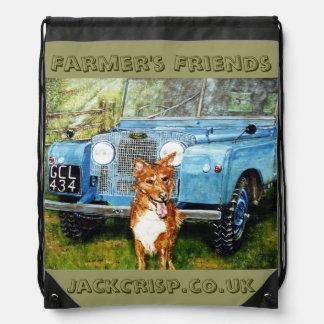 農家の友人のバックパック ナップサック