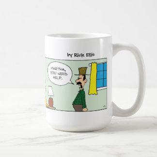 農家の妻のマグ コーヒーマグカップ