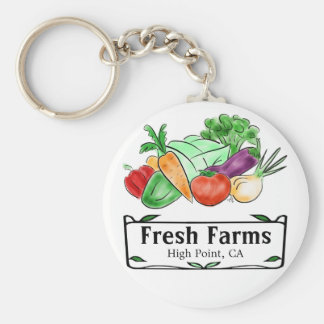 農家の市場のカスタムKeychain キーホルダー