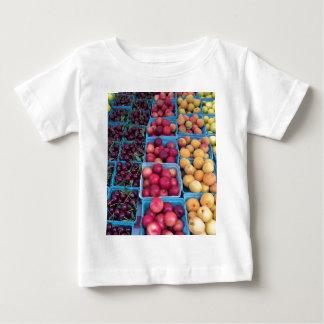 農家の市場のフルーツ ベビーTシャツ