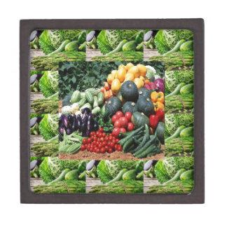 農家の市場の野菜の歓喜のシェフの料理のアイディア ギフトボックス