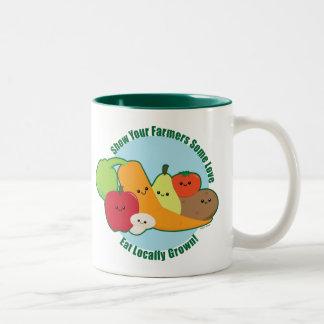 農家の市場 ツートーンマグカップ