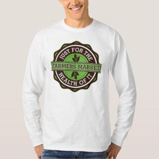 農家はそれの健康のためにちょうど販売します Tシャツ