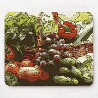 農家は生鮮果実野菜を販売します マウスパッド