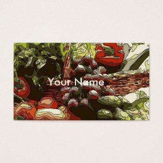 農家は生鮮果実野菜を販売します 名刺