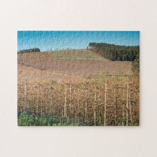 農業の景色のジグソーパズル ジグソーパズル