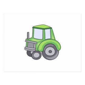 農業トラクター ポストカード
