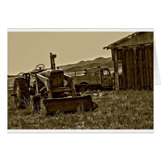 農業労働者 カード