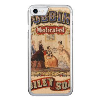 農耕馬の薬で治療された化粧石鹸 CARVED iPhone 8/7 ケース