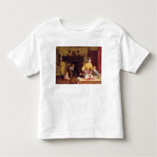 込み合いの維持 トドラーTシャツ