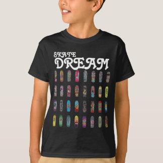 込み合い-スケートの夢 Tシャツ
