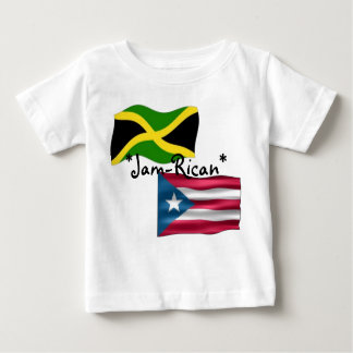 込み合いRican ベビーTシャツ
