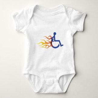 迅速な椅子の乳児T ベビーボディスーツ