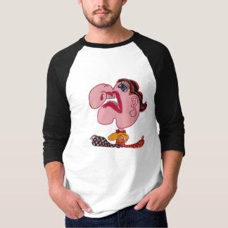 近づいて来るくしゃみ Tシャツ