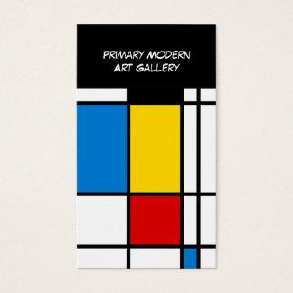 近代美術のギャラリー 名刺