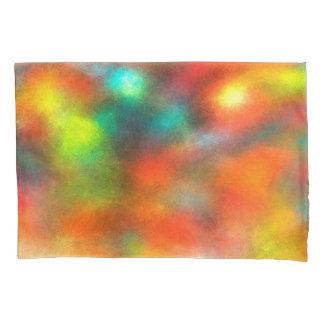 近代美術の抽象芸術色 枕カバー