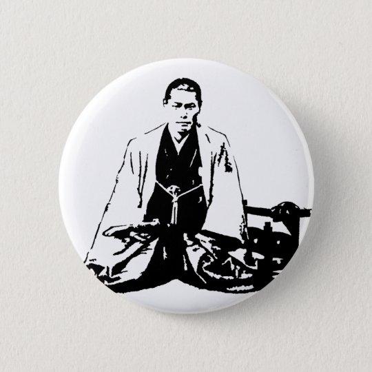 近藤勇 Kondo Isami 5.7cm 丸型バッジ