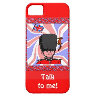 近衛兵およびキツツキ iPhone 5 カバー