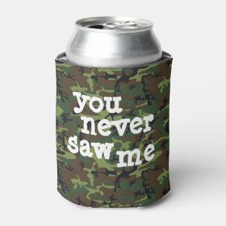 迷彩柄あなたのビール! 缶クーラー