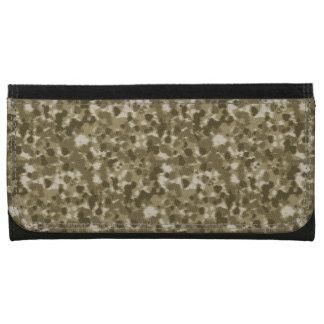 迷彩柄のスタイルの財布