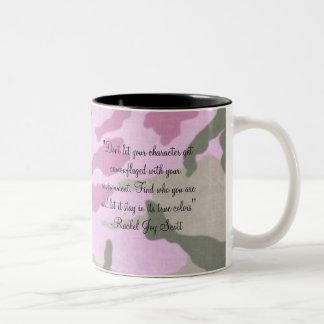 迷彩柄のマグ ツートーンマグカップ
