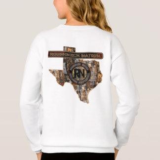迷彩柄の上のテキサス州の装備 スウェットシャツ