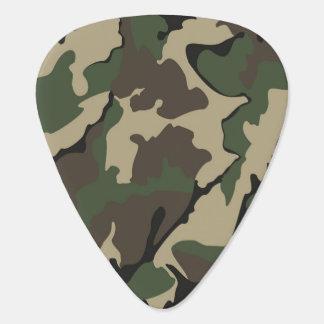 迷彩柄の標準のギターピック ギターピック