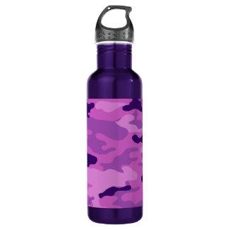 迷彩柄の紫色の自由Bottleworks ウォーターボトル