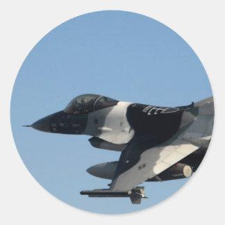 迷彩柄のF-16 《鳥》ハヤブサ ラウンドシール
